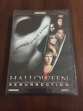 HALLOWEEN RESURRECTION DVD CON EXTRAS TERROR 86 MIN NEW & SEALED NUEVO EMBALADO