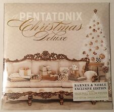 PENTATONIX CHRISTMAS DELUXE 2LP ON WHITE VINYL WITH 12X24 FULL COLOR POSTER NEW