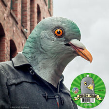 Pigeon Mask Deluxe Full Face Head Bird Latex Rubber Animal Costume