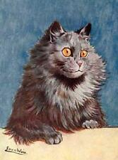 CAT, CHAT, KATZE, WAITING FOR FOOD, LOUIS WAIN, MAGNET