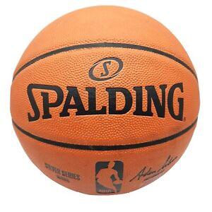 Genuine Spalding Official NBA Silver Series Game Ball Replica Basketball