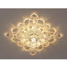 Modern LED Crystal Ceiling Light Pendant Lamp Hallway Lamp Chandelier Fixture US