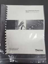 More details for thermo scientific type d11981 remote dispenser user manual