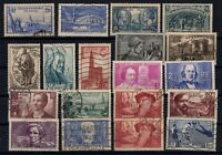 PP135346/ FRANCE STAMPS – YEARS 1938 - 1940 USED SEMI MODERN LOT – CV 146 $
