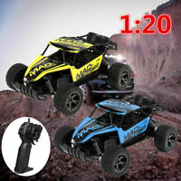 1:20 Remote Control Car RC Electric High Speed Off-Road Truck Xmas Gift