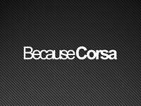Because Corsa Car Sticker Vinyl Decal Vauxhall B C D