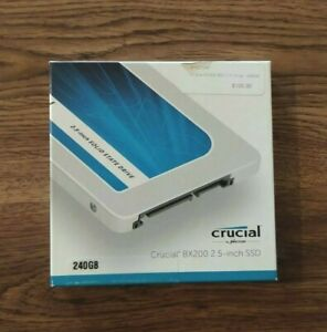 """Crucial Solid State Drive CT240BX200SSD1 BX200 240 GB 2.5"""" SATA 6GB/s"""