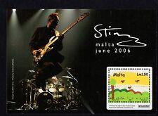2006 Malte Sunny Day sting concert Miniature Sheet SG MS1489 non montés Comme neuf