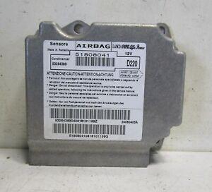 Lancia Delta III Airbagsteuerteil Steuerteil 51808041