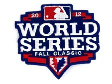 World Series Fall Classic 2012 Embroidered Patch SF Giants and Detroit Tigers