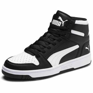 PUMA Rebound Lay Up SL High Top Mens Brand New WB Trainers-Size 8