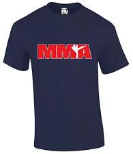 Camiseta de diseño de logotipo de MMA Artes Marciales Mixtas Para Hombre UFC Cage Fighter Tee T-Shirt