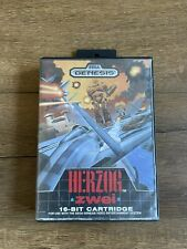 Herzog Zwei (Sega Genesis, 1989) Authentic, Complete, Tested works SEGA ⚡️SHIP!