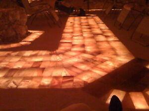 Himalaya Kristall Salz Ziegel, Salzsteine, Sauna, Wellness 12 Stück 20x10x5cm