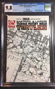 Teenage Mutant Ninja Turtles TMNT #1 CGC 9.8 Eastman Laird PBBZ Limited Ed.