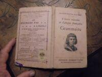 Ancien Manuel Scolaire l'Année Enfantine Langue Française Grammaire 1925 J Bedel