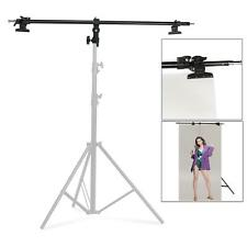 Reflector Holder Studio Boom Arm 180cm Disc Grip Photography Clamp Photo Video