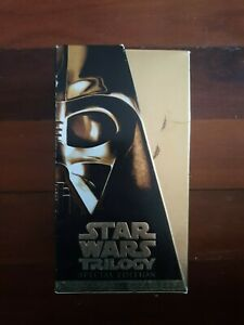 VHS Movies STAR WARS Special Edition Trilogy
