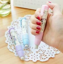 BUAU   Fashion Students Pen Shape Eraser Rubber Stationery Kid Gift Toy Cute