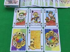 Vintage Piatnik Semi Transformation TEDDY DECK Playing Cards Spielkarten BEAR