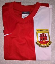 GIBRALTAR by NIKE Red Boys Shirt - size 6-8 years / 122-128 cm