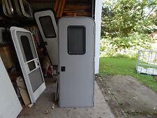"""Trailer Door, 30"""" X 78"""".  W/Screen Door, With Frame, With Lock & Key,  #1"""