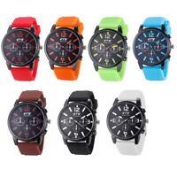 Men's Luxury Fashion Sports Stainless Steel Analog Quartz Sport Wrist Watch New