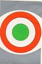 CALCIO FLASH 1980 lampo COCCARDA COPPA ITALIA scudetto con velina  da bustina