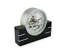 Art Deco Skeleton Mantel Clock by David Peterson SKC14 - quartz New