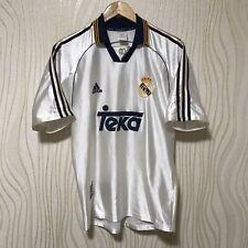 REAL MADRID 1998 1999 2000 HOME FOOTBALL SHIRT SOCCER JERSEY ADIDAS SEDORF