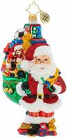 Christopher Radko Hand-Crafted European Glass Ornament, Toys Galore!