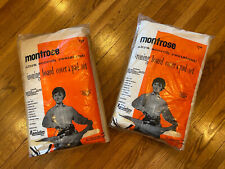 (2) vintage ironing board cover & pad set Montrose brand 1960's 1970's
