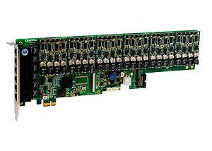 OpenVox A2410E60 24 Port Analog PCI-E Card Base Board + 6 FXS400 + 0 FXO400