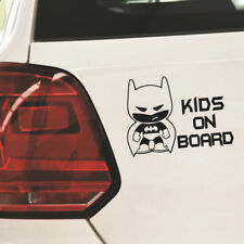 "Funny Batman ""Kid on Board"" Auto Vinyl Sticker Car Window Bumper Stickers Black"