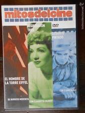 DVD -3 PELICULAS,EL HOMBRE DE LA TORRE EIFFEL, REGRESARON TRES, DESIERTO PINTADO
