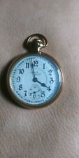 Illinois 21 Jewel Gf Santa Fe Special Pocket watch, 50 Mm.