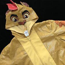 Disney Store The Lion King 5 6 Simba Character Youth Rain Jacket Coat Boy Girl