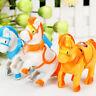 NEW WindUp Animal Running Moving Horse ClassicClockwork Plastic Kid Toy Gift NT