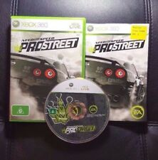 Need for Speed ProStreet (Microsoft Xbox 360, 2007) Xbox 360 Game - FREE POST
