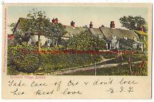 Cheshire Rostherne Village Bowdon 1904 Vintage Postcard 17.7