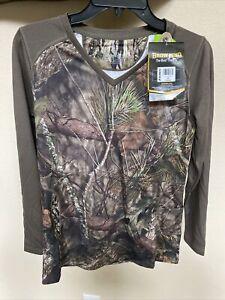 Browning Mossy Oak Long Sleeve Camo Medium with Silvadur Odor Protection $59.99