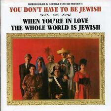 Bob Booker, Booker & - You Don't Have to Be Jewish & When You're in Love [New CD