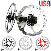160/180/203mm Front Rear Rotor MTB Bicycle Brake Disc Rotors Stainless Steel US