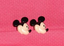 Mickey Mouse Head,Cupcake Rings,Party Favors,Plastic,Food Safe.24 count