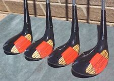 Thunderbird by Mor Golf Clubs Woods set Black Driver 3 4 5 w New Champ C4 Grips