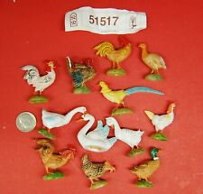 "Fontanini ""Bethlehem Barnyard Birds"" by Roman, Inc., 12 Pc Set (51517) in Box"