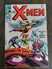 X-Men #49 1st Polaris / Lorna Dane 1st Mesmero, Steranko Cover Beast Origin 1968