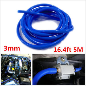 3mm Silicone Vacuum Hose Air Water Coolant Oil Turbo Silicon Tubing Tube Hose 5M