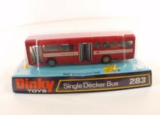 Dinky Toys GB n° 283 Single Decker bus Red Arrow neuf en boite
