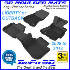 Fits Subaru Liberty / Outback 2009 - 2014 - 3D Kagu Rubber Moulded Floor Mats